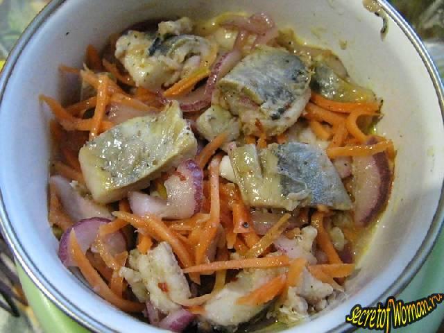 рецепты корейских салатов хе из рыбы